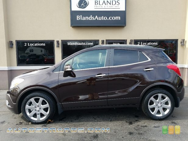 2014 Buick Encore Leather 1.4 Liter Turbocharged DOHC 16-Valve VVT ECOTEC 4 Cylinder 6 Speed Automatic