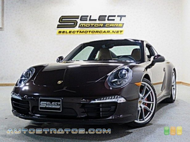 2014 Porsche 911 Carrera 4S Coupe 3.8 Liter DFI DOHC 24-Valve VarioCam Plus Flat 6 Cylinder 7 Speed Manual