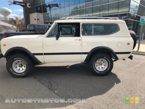 1977 International Scout  304 ci OHV 16-Valve V8 4 Speed Manual