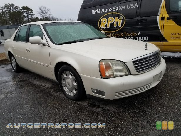 2002 Cadillac DeVille Sedan 4.6 Liter DOHC 32-Valve Northstar V8 4 Speed Automatic