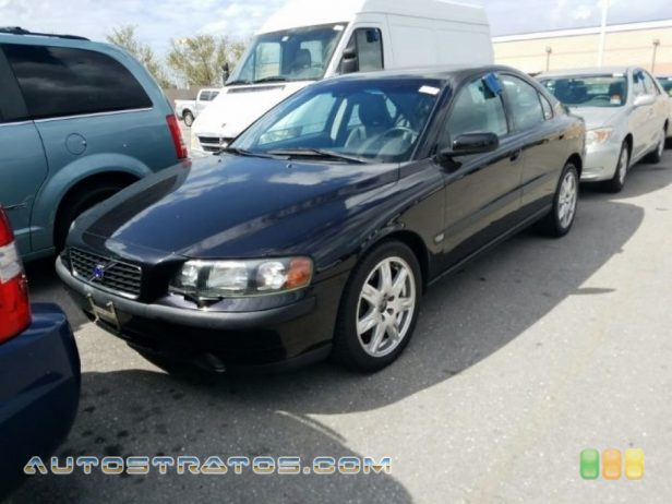 2004 Volvo S60 2.5T AWD 2.5 Liter Turbocharged DOHC 20 Valve Inline 5 Cylinder 5 Speed Automatic