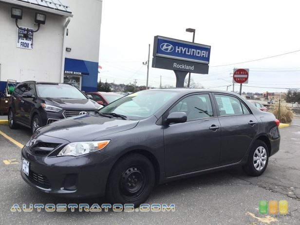 2011 Toyota Corolla LE 1.8 Liter DOHC 16-Valve Dual-VVTi 4 Cylinder 4 Speed ECT-i Automatic