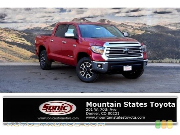 2018 Toyota Tundra Limited CrewMax 4x4 5.7 Liter i-Force DOHC 32-Valve VVT-i V8 6 Speed ECT-i Automatic