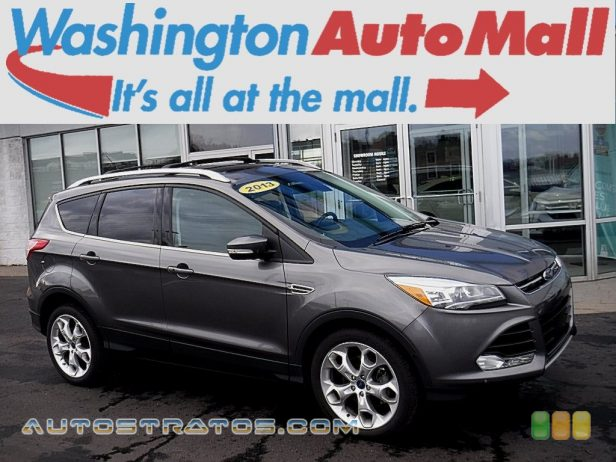 2013 Ford Escape Titanium 2.0L EcoBoost 4WD 2.0 Liter DI Turbocharged DOHC 16-Valve Ti-VCT EcoBoost 4 Cylind 6 Speed SelectShift Automatic