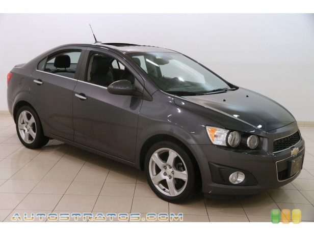2013 Chevrolet Sonic LTZ Sedan 1.4 Liter DI Turbocharged DOHC 16-Valve 4 Cylinder 6 Speed Automatic