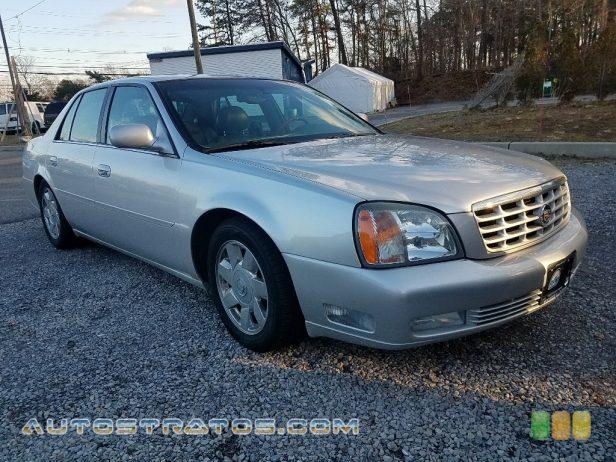 2002 Cadillac DeVille DTS 4.6 Liter DOHC 32-Valve Northstar V8 4 Speed Automatic
