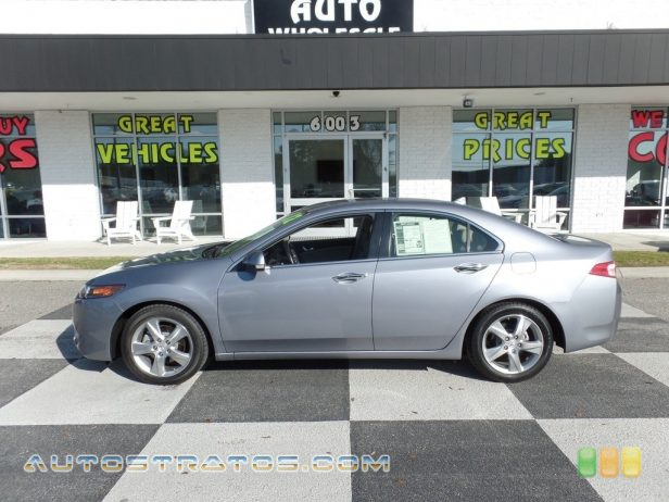 2012 Acura TSX Sedan 2.4 Liter DOHC 16-Valve VTEC 4 Cylinder 5 Speed Sequential SportShift Automatic