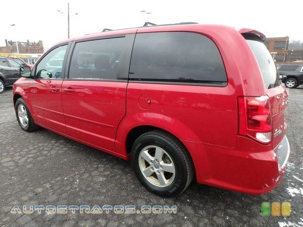 2012 Dodge Grand Caravan SXT 3.6 Liter DOHC 24-Valve VVT Pentastar V6 6 Speed AutoStick Automatic