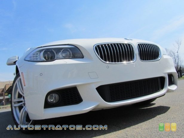 2012 BMW 5 Series 535i Sedan 3.0 Liter DI TwinPower Turbocharged DOHC 24-Valve VVT Inline 6 C 8 Speed Steptronic Automatic