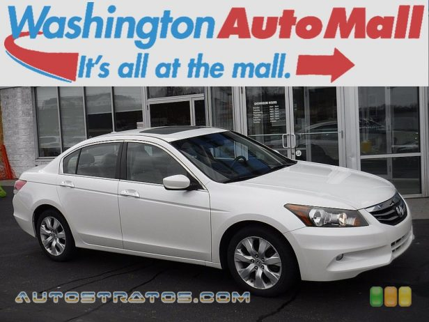 2011 Honda Accord EX-L V6 Sedan 3.5 Liter SOHC 24-Valve i-VTEC V6 5 Speed Automatic