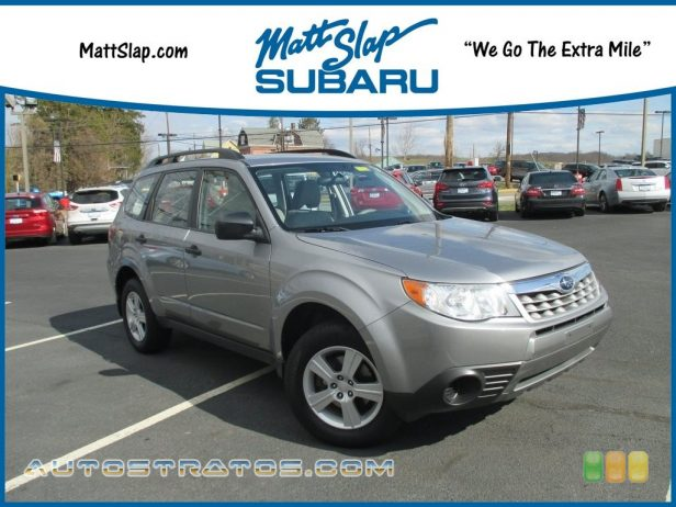 2011 Subaru Forester 2.5 X 2.5 Liter DOHC 16-Valve VVT Flat 4 Cylinder 4 Speed Automatic