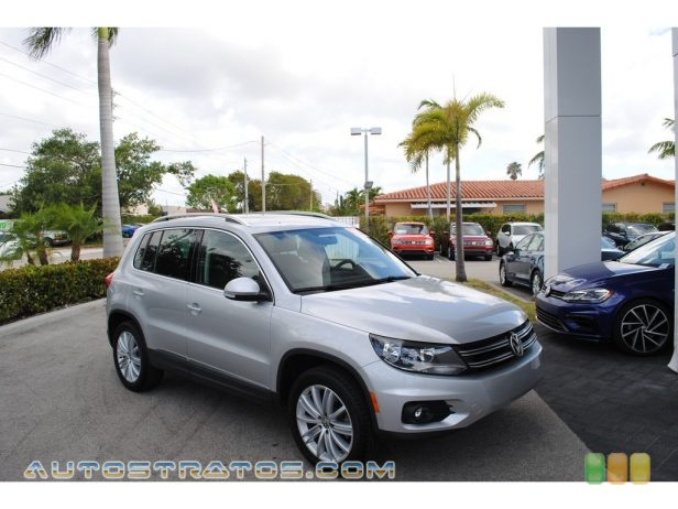 2014 Volkswagen Tiguan SE 2.0 Liter TSI Turbocharged DOHC 24-Valve VVT 4 Cylinder 6 Speed Tiptronic Automatic