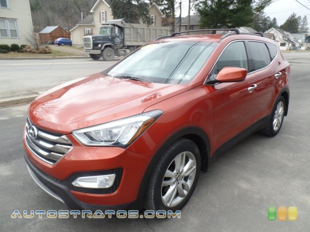 2013 Hyundai Santa Fe Sport 2.0T AWD 2.0 Liter Turbocharged DOHC 16-Valve D-CVVT 4 Cylinder 6 Speed Shiftronic Automatic