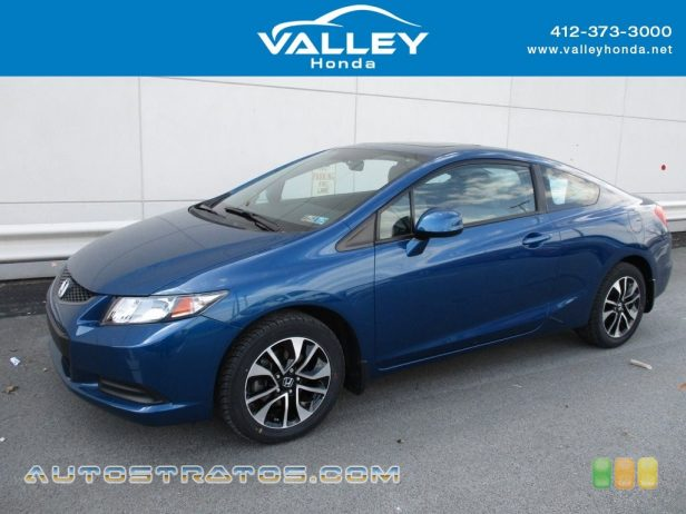 2013 Honda Civic EX Coupe 1.8 Liter SOHC 16-Valve i-VTEC 4 Cylinder 5 Speed Automatic