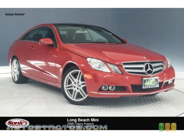 2010 Mercedes-Benz E 350 Coupe 3.5 Liter DOHC 24-Valve VVT V6 7 Speed Automatic