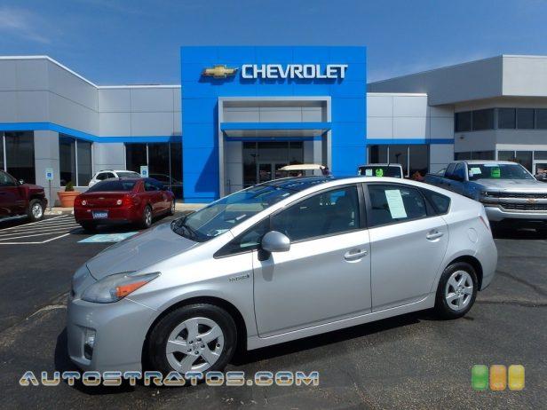2010 Toyota Prius Hybrid IV 1.8 Liter DOHC 16-Valve VVT-i 4 Cylinder Gasoline/Electric Hybri ECVT Automatic
