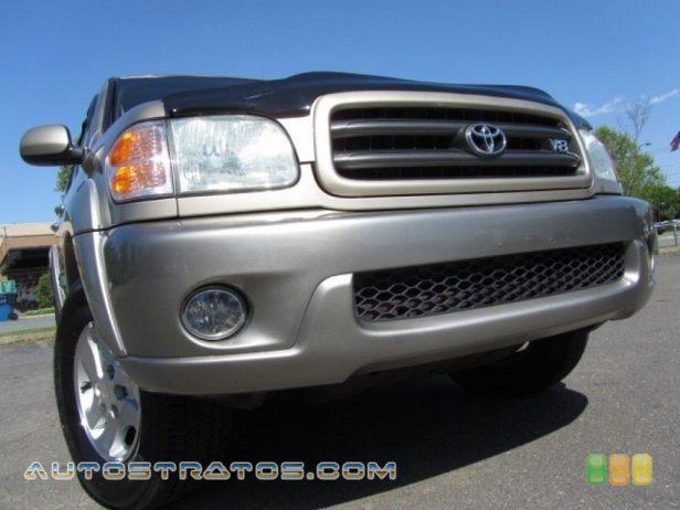2004 Toyota Sequoia SR5 4x4 4.7 Liter DOHC 32-Valve V8 4 Speed Automatic