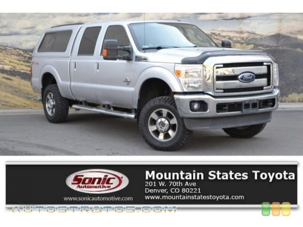 2011 Ford F350 Super Duty Lariat Crew Cab 4x4 6.7 Liter OHV 32-Valve B20 Power Stroke Turbo-Diesel V8 6 Speed TorqShift Automatic