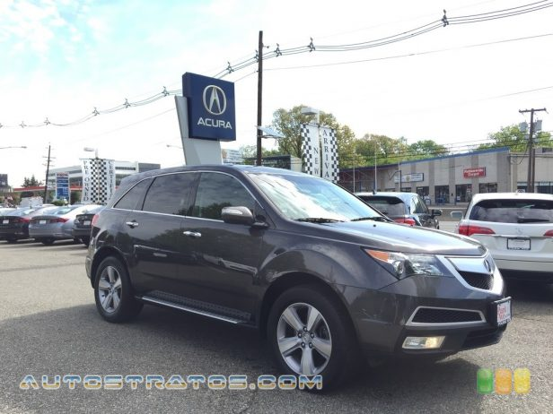 2012 Acura MDX SH-AWD 3.7 Liter SOHC 24-Valve VTEC V6 6 Speed Sequential SportShift Automatic