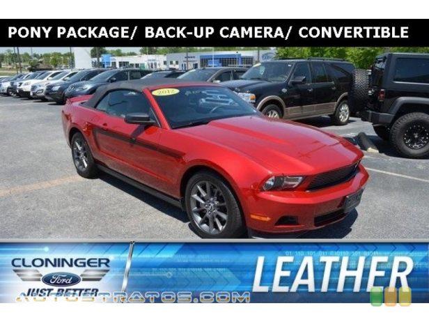 2012 Ford Mustang V6 Convertible 3.7 Liter DOHC 24-Valve Ti-VCT V6 6 Speed Manual