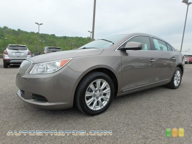 2012 Buick LaCrosse FWD 2.4 Liter SIDI DOHC 16-Valve VVT 4 Cylinder Gasoline/eAssist Ele 6 Speed Automatic