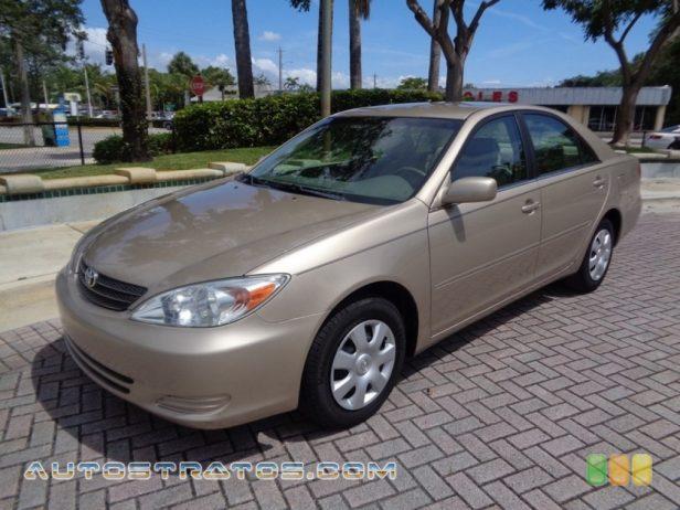 2003 Toyota Camry LE 2.4 Liter DOHC 16-Valve VVT-i 4 Cylinder 4 Speed Automatic
