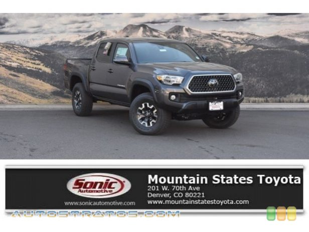 2018 Toyota Tacoma TRD Off Road Double Cab 4x4 3.5 Liter DOHC 24-Valve VVT-i V6 6 Speed Manual