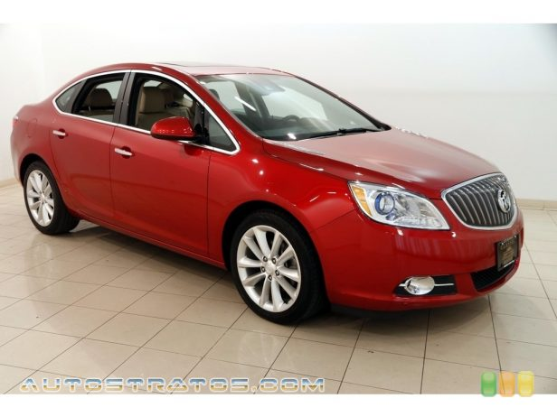 2014 Buick Verano Convenience 2.4 Liter DI DOHC 16-Valve VVT ECOTEC 4 Cylinder 6 Speed Automatic