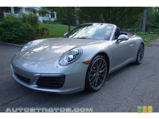 2017 Porsche 911 Carrera S Cabriolet 3.0 Liter DFI Twin-Turbocharged DOHC 24-Valve Variocam Plus Horz 7 Speed Manual