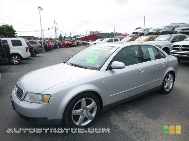 2002 Audi A4 3.0 quattro Sedan 3.0 Liter DOHC 30-Valve V6 5 Speed Tiptronic Automatic