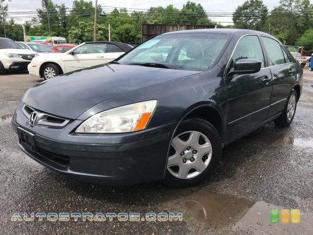 2005 Honda Accord LX Sedan 2.4L DOHC 16V i-VTEC 4 Cylinder 5 Speed Automatic