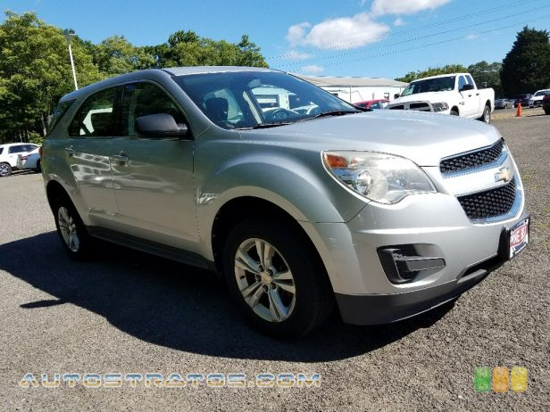 2011 Chevrolet Equinox LS AWD 2.4 Liter DI DOHC 16-Valve VVT Ecotec 4 Cylinder 6 Speed Automatic