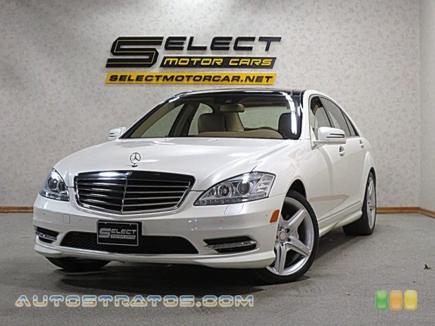 2013 Mercedes-Benz S 550 4Matic Sedan 4.6 Liter DI Twin-Turbocharged DOHC 32-Valve VVT V8 7 Speed Automatic