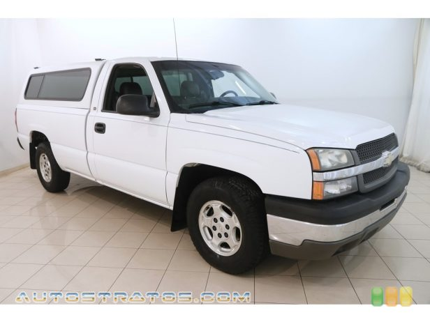 2004 Chevrolet Silverado 1500 Regular Cab 4.3 Liter OHV 12-Valve Vortec V6 4 Speed Automatic