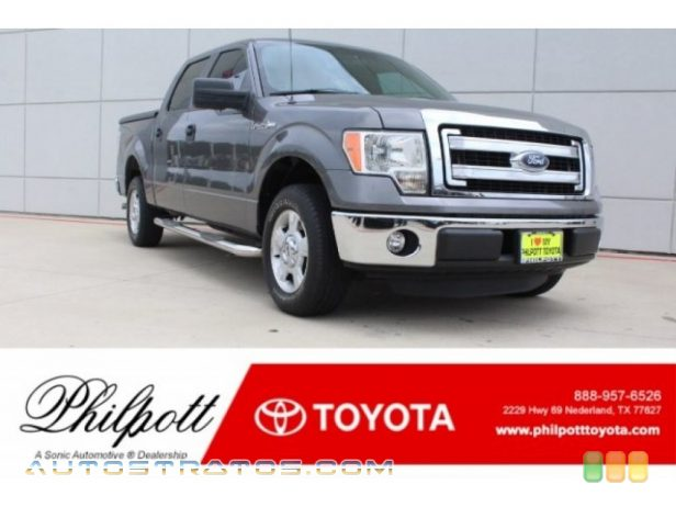 2013 Ford F150 XLT SuperCrew 3.7 Liter Flex-Fuel DOHC 24-Valve Ti-VCT V6 6 Speed Automatic
