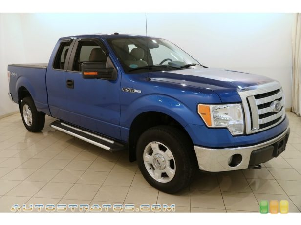 2010 Ford F150 XLT SuperCab 4x4 5.4 Liter Flex-Fuel SOHC 24-Valve VVT Triton V8 6 Speed Automatic