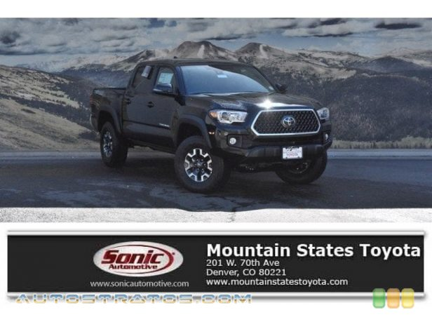 2018 Toyota Tacoma TRD Off Road Double Cab 4x4 3.5 Liter DOHC 24-Valve VVT-i V6 6 Speed Automatic