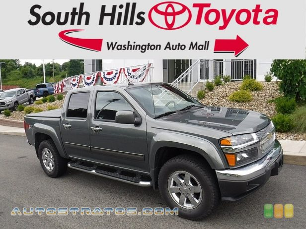 2011 Chevrolet Colorado LT Crew Cab 4x4 3.7 Liter DOHC 20-Valve 5 Cylinder 4 Speed Automatic