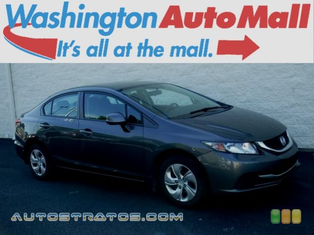2013 Honda Civic LX Sedan 1.8 Liter SOHC 16-Valve i-VTEC 4 Cylinder 5 Speed Automatic