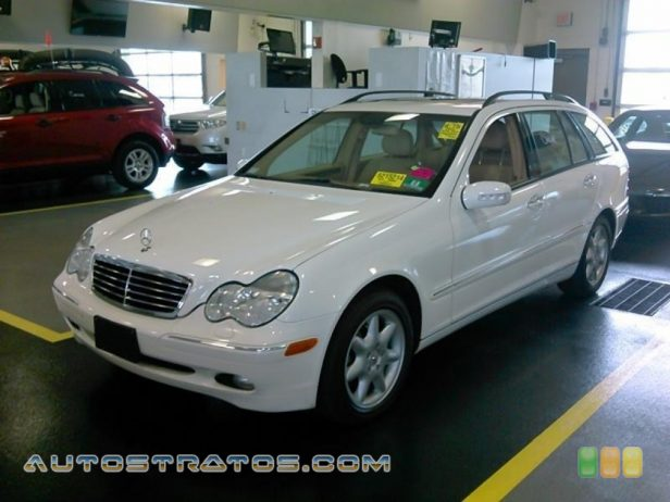 2003 Mercedes-Benz C 240 4Matic Wagon 2.6 Liter SOHC 18-Valve V6 5 Speed Automatic