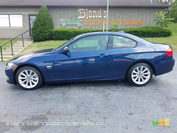 2011 BMW 3 Series 335i xDrive Coupe 3.0 Liter DI TwinPower Turbocharged DOHC 24-Valve VVT Inline 6 C 6 Speed Manual