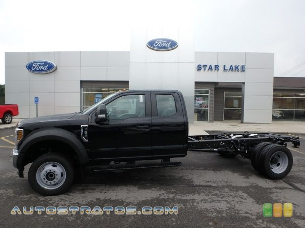 2019 Ford F550 Super Duty XL SuperCab 4x4 Chassis 6.7 Liter Power Stroke OHV 32-Valve Turbo-Diesel V8 6 Speed Automatic