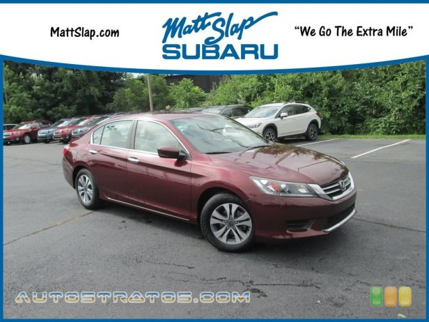 2014 Honda Accord LX Sedan 2.4 Liter Earth Dreams DI DOHC 16-Valve i-VTEC 4 Cylinder CVT Automatic