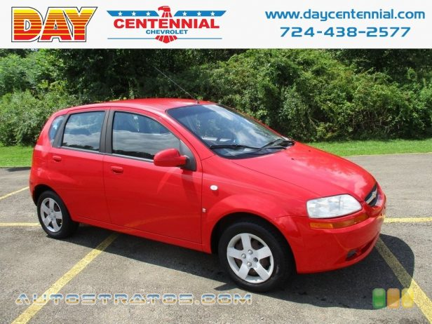 2008 Chevrolet Aveo Aveo5 LS 1.6L DOHC 16 Valve 4 Cylinder 4 Speed Automatic