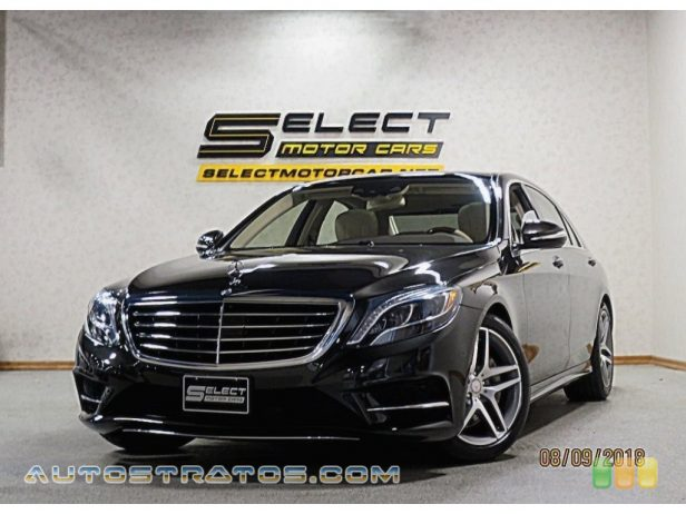2014 Mercedes-Benz S 550 4MATIC Sedan 4.6 Liter Twin-Turbocharged DOHC 32-Valve VVT V8 7 Speed Automatic