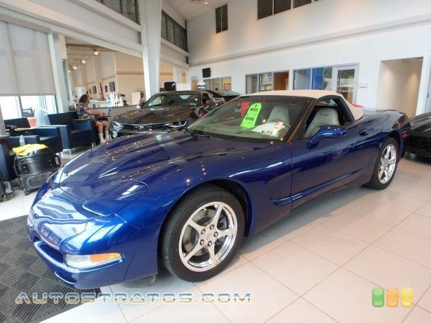 2004 Chevrolet Corvette Convertible 5.7 Liter OHV 16-Valve LS1 V8 6 Speed Manual
