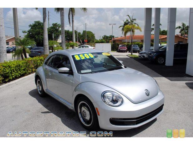 2012 Volkswagen Beetle 2.5L 2.5 Liter DOHC 20-Valve Inline 5 Cylinder 6 Speed Tiptronic Automatic