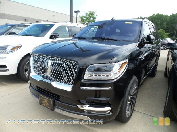 2018 Lincoln Navigator Reserve 4x4 3.5 Liter GTDI Twin-Turbocharged DOHC 24-Valve VVT V6 10 Speed Automatic