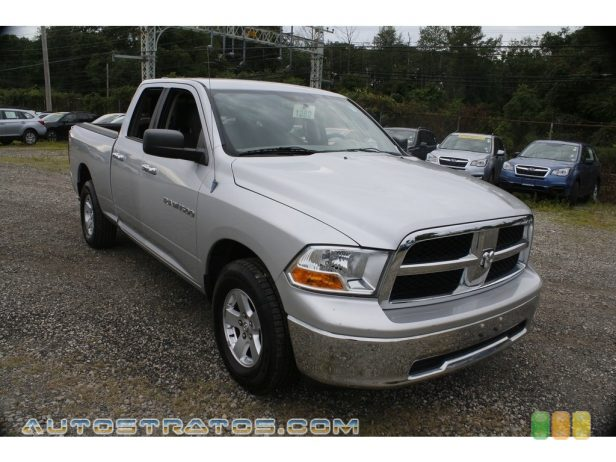 2012 Dodge Ram 1500 SLT Quad Cab 4x4 4.7 Liter SOHC 16-Valve Flex-Fuel V8 6 Speed Automatic
