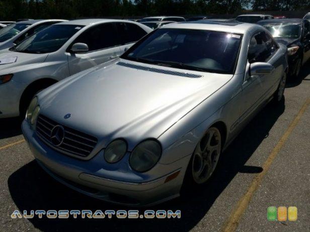 2001 Mercedes-Benz CL 600 5.8 Liter SOHC 36-Valve V12 5 Speed Automatic